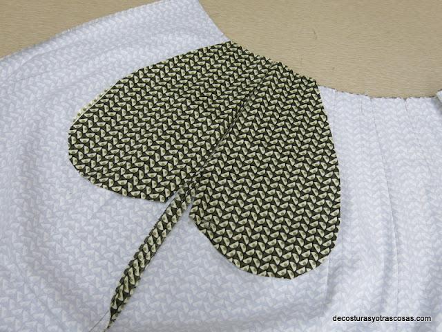 como coser bolsillos en costura falda