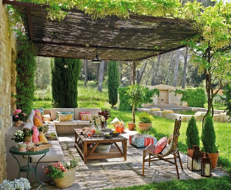 Porches rusticos rustic porch - Fotos porches rusticos ...