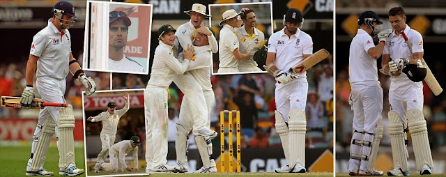 ASHES LIVe,Australia v England,England suffer 381-run first Test,Mitchell Johnson ashes 2013 first test,ashes 2013 australia stats