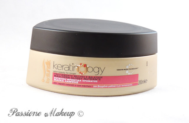 Sunsilk Keratinology maschera glossy nutriente