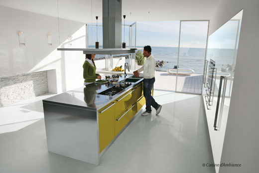 Ma cuisine plus pratique avec un lot central home sweet for Cuisine pour sweet home 3d