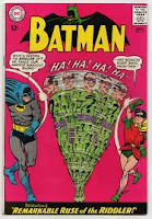 Batman #171 1st silver age Riddler cover