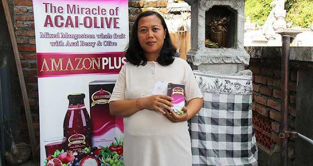 Amazon Plus, Obat keputihan pada ibu hamil