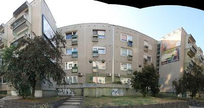XIII. kerület, Angyalföld, Budapest, lakótelep, Béke út