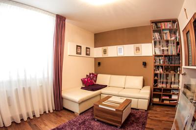 estudio bilbioteca apartamento moderno