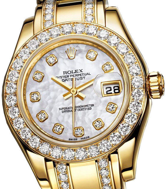 Rolex diamond watches for women