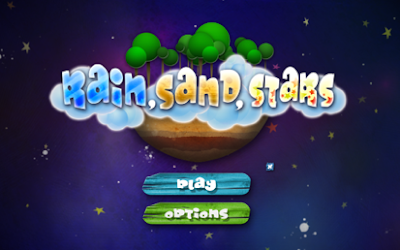 Rain, Sand, Stars Splash Screen