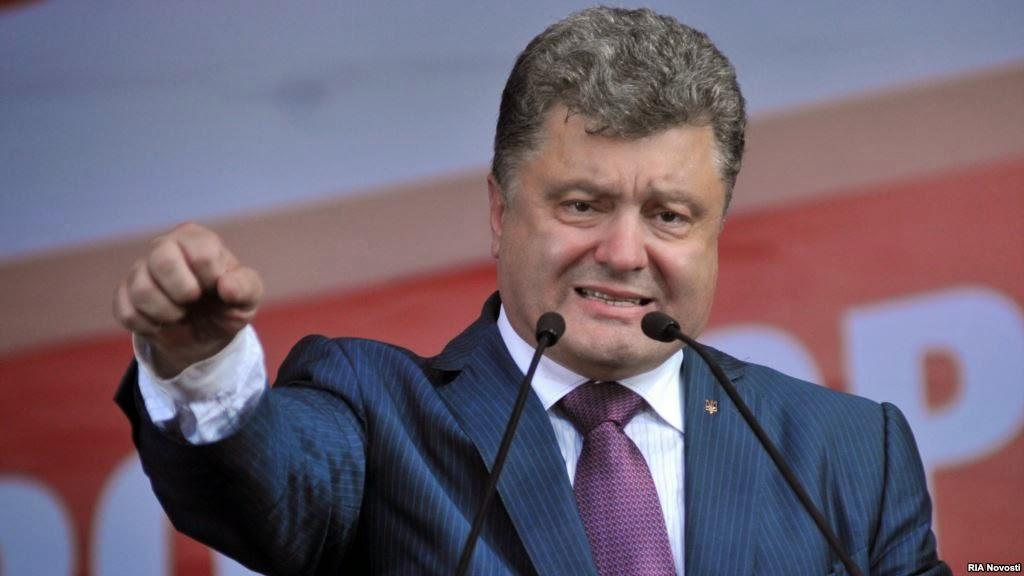 President of Ukraine Petr Poroshenko