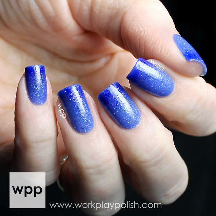 Polished by KPT Hyacinth from the March into Spring Collection (2014)