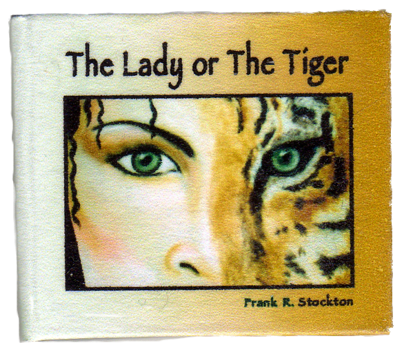conflict in the story the lady or the tiger by frank r stockton When the lady, or the tiger was first published in the popular magazine century in 1882, it was a resounding successalthough frank r stockton had already published a novel and some other stories and would continue to publish for many years, the lady, or the tiger' remained his most famous story.
