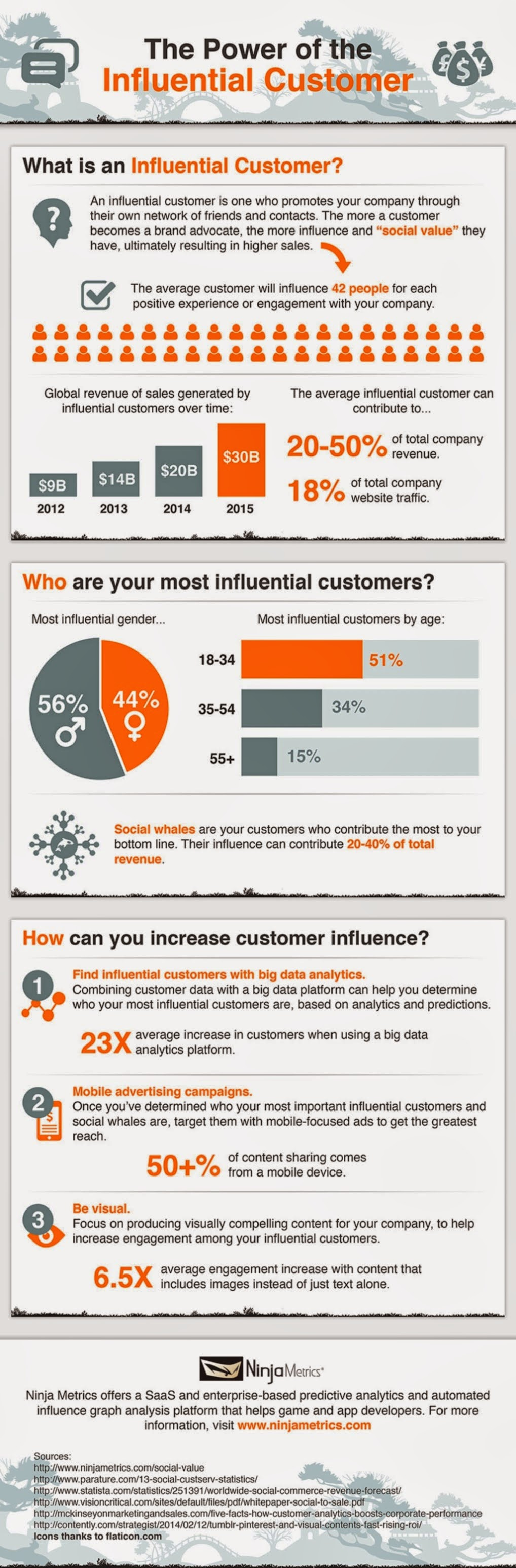 The Power of the Influential Customer