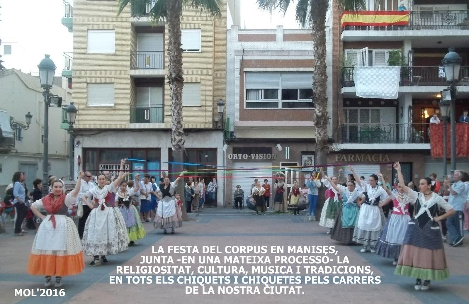 29.05.16 LA FESTA DEL COR- PUS EN LA CIUTAT DE MANISES