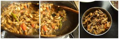 mushroom masala recipe6