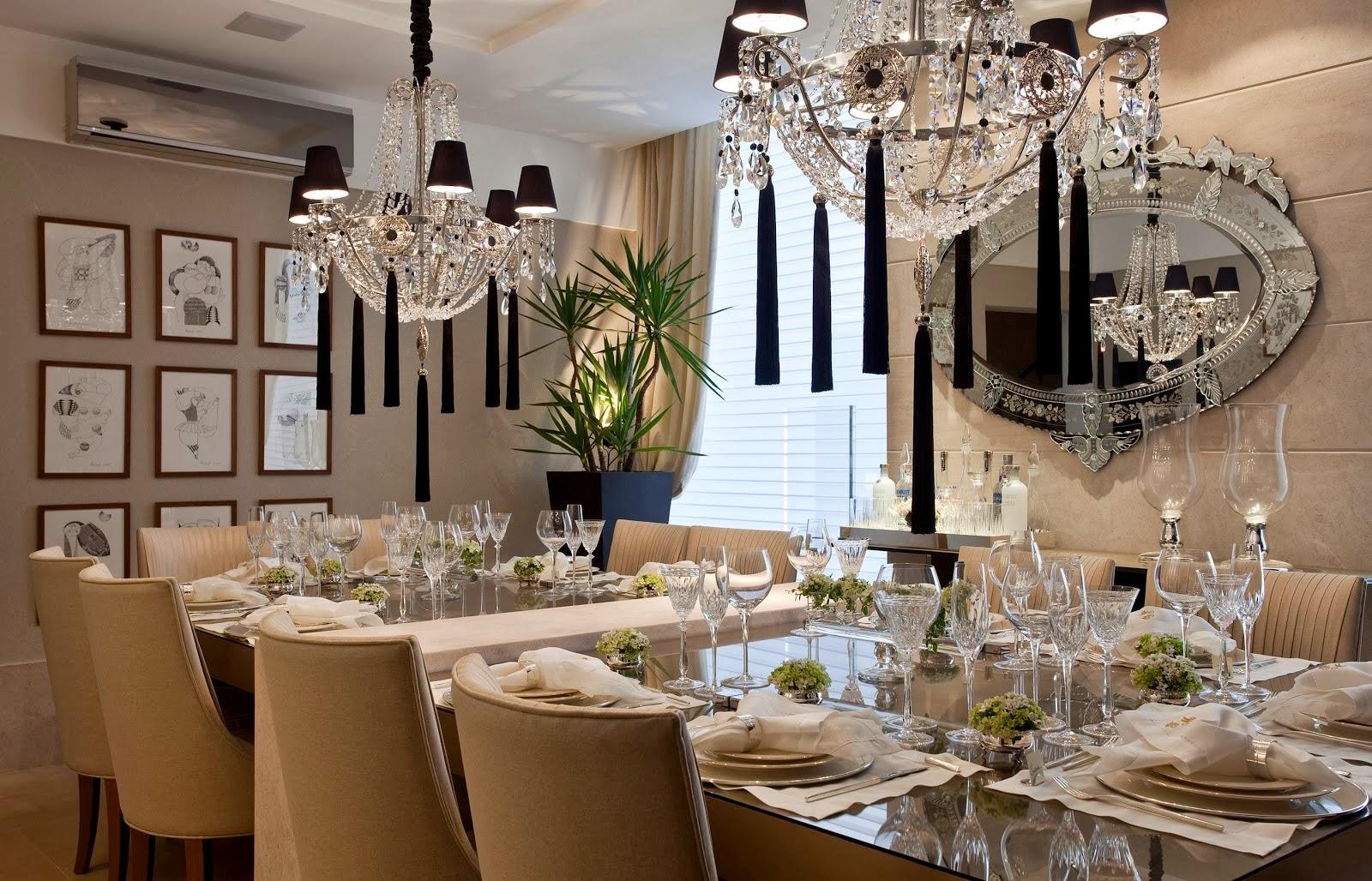 Salas de jantar50 modelos maravilhosos e dicas de como decorar