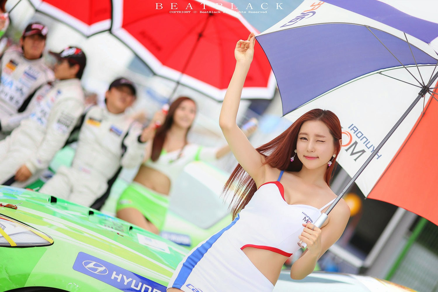 4 Choi Yu Jung - Korea Speed Festival 2014 - very cute asian girl-girlcute4u.blogspot.com
