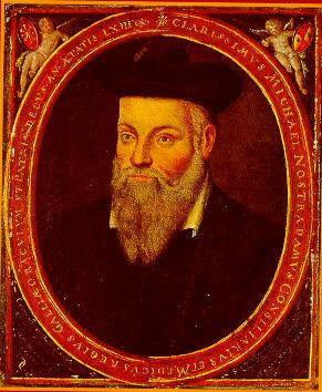 The Lost Tarot of Nostradamus นอสตราดามุส ภาพ รูป นอสเทรดาม นอทเทรอดาม นอสเตรอดัม Portrait Michel de Nostredame painted by Cesar