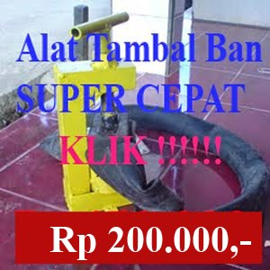 ALAT TAMBAL BAN BAKAR SUPER CEPAT