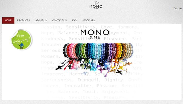 Beaded Bracelets from MonoAndMe.com.au - Great Gift