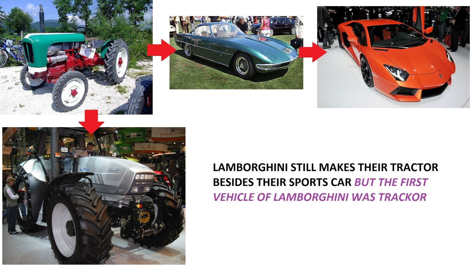 LAMBORGHINI\'S FIRST VEHICLE WAS TRACKTOR | KNOW WHAT YOU DONT KNOW ...
