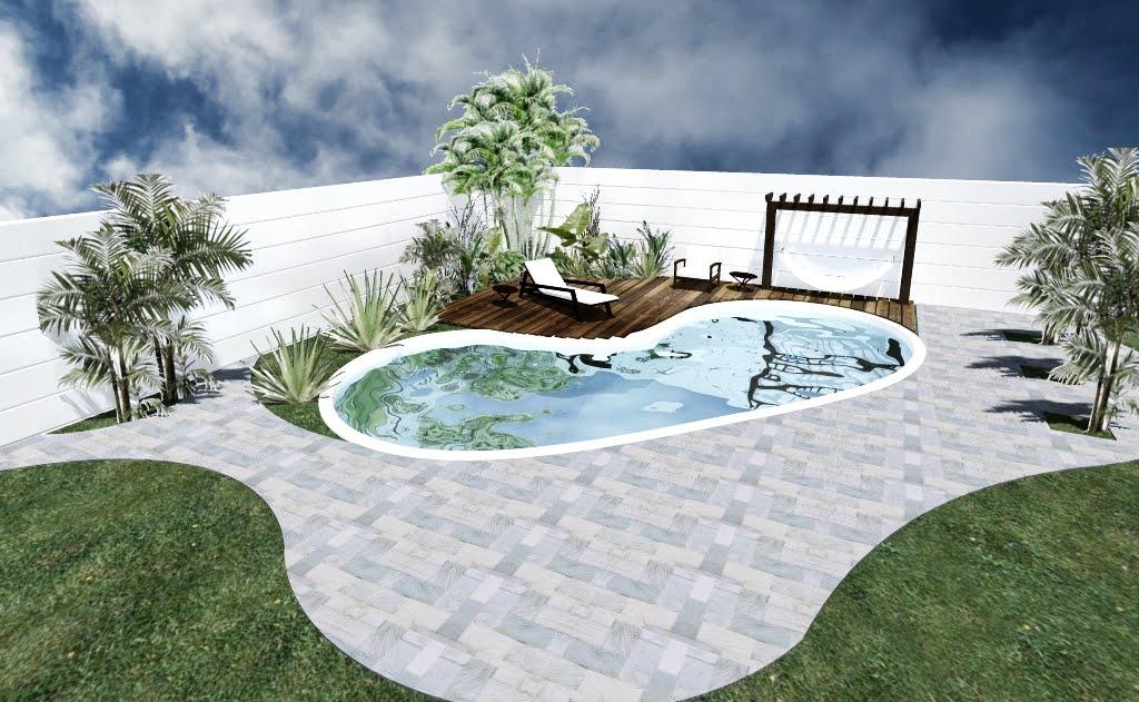 Paisagismo piscina jardins e ilumina o arquitetura for Piscinas e jardins