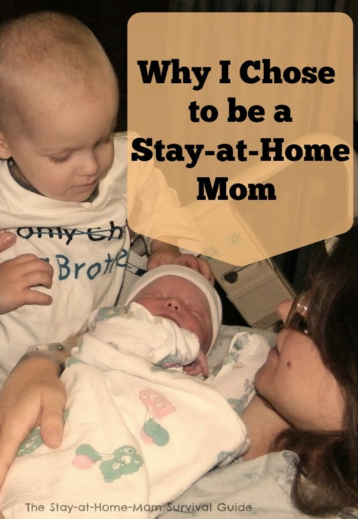 5 reasons why I chose to be a stay at home mom. Did you make the same choices?