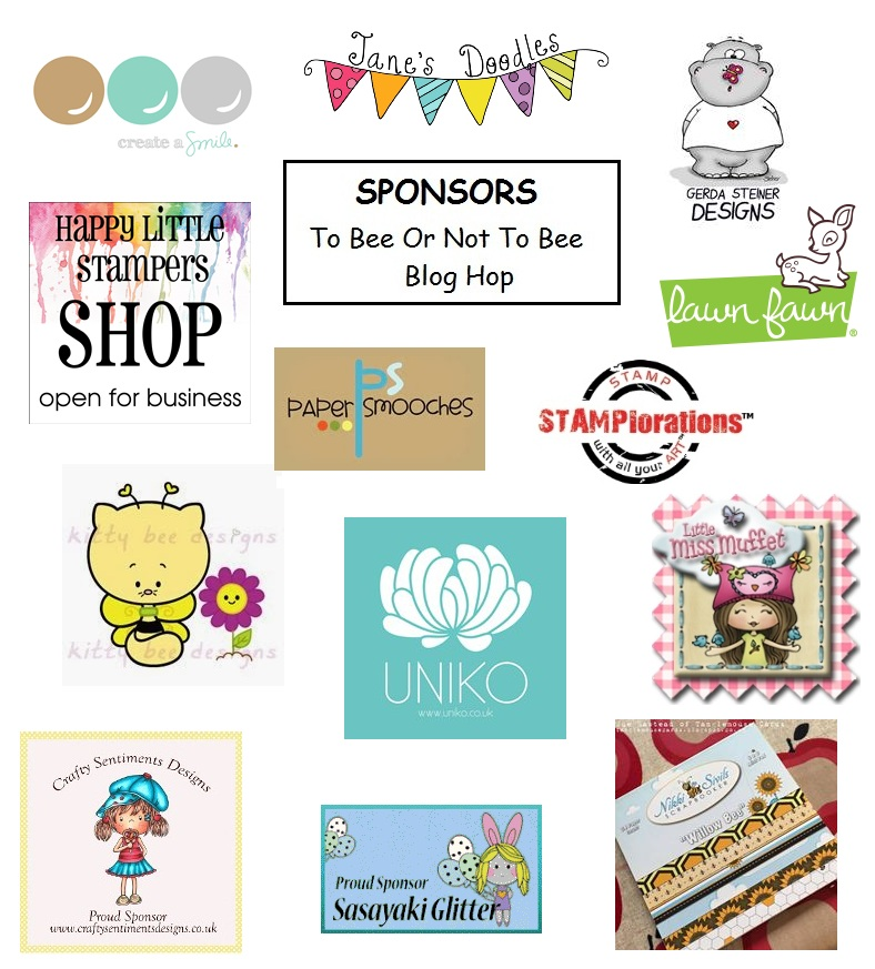 To Bee Or Not To Bee Blog Hop Winners - RE-DRAW