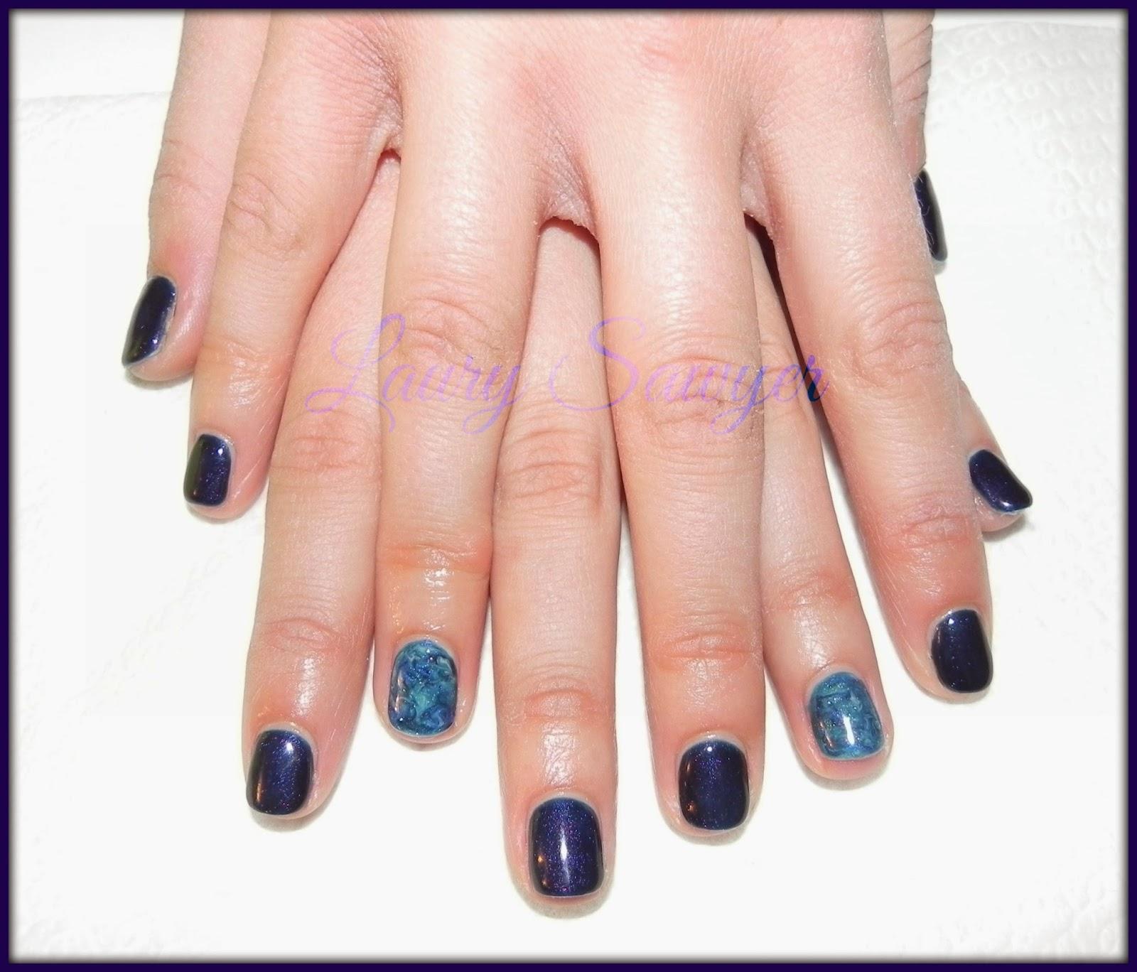Semipermanente su unghie corte
