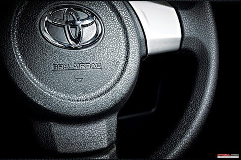 To be Avoided Airbag Explosion, this position is Safe Hands on the steering wheel