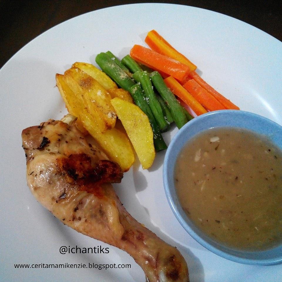 Resep Steam Chicken - Cerita Mami Kenzie