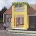 Desain Teras Rumah dengan Taman gantung