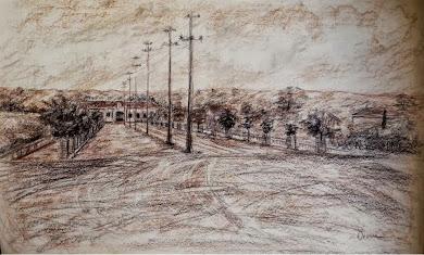 Estação e antiga Avenida Tibiriçá