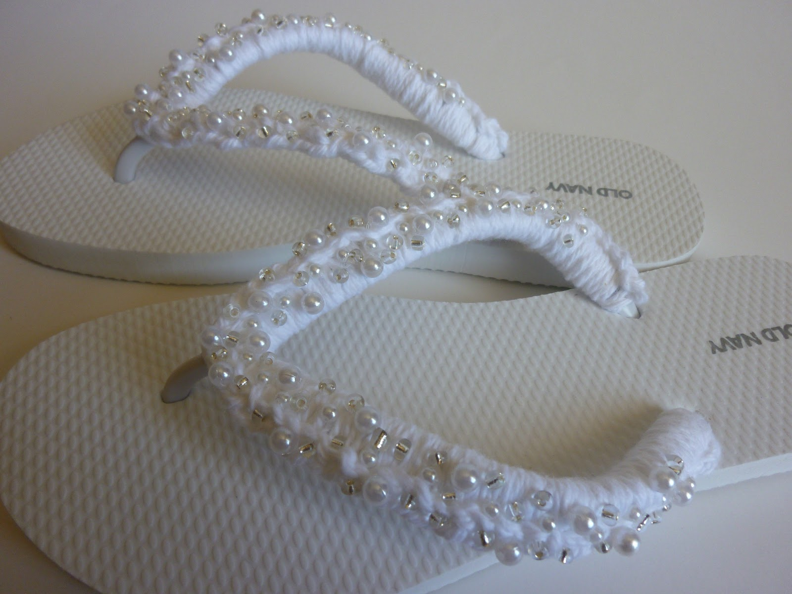 Crochet Flip Flops : Crochet Dynamite: Wedding Wishes