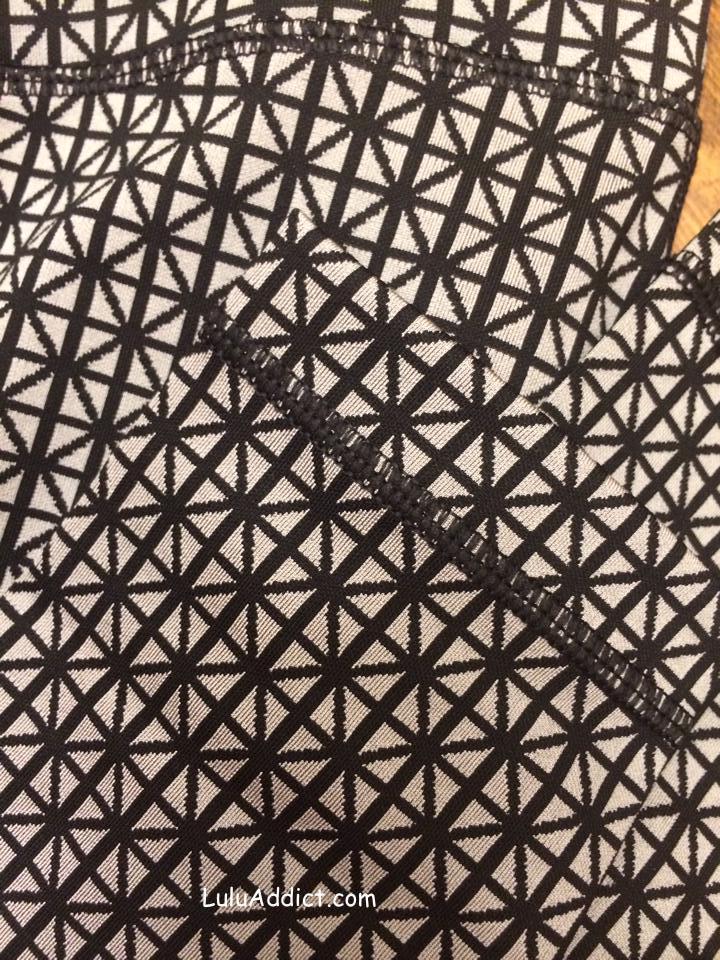 lululemon tri geo print fabric