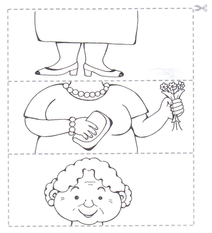 Desenhos Para Colorir Quebra cabeça do bem 10 e outros para recortar