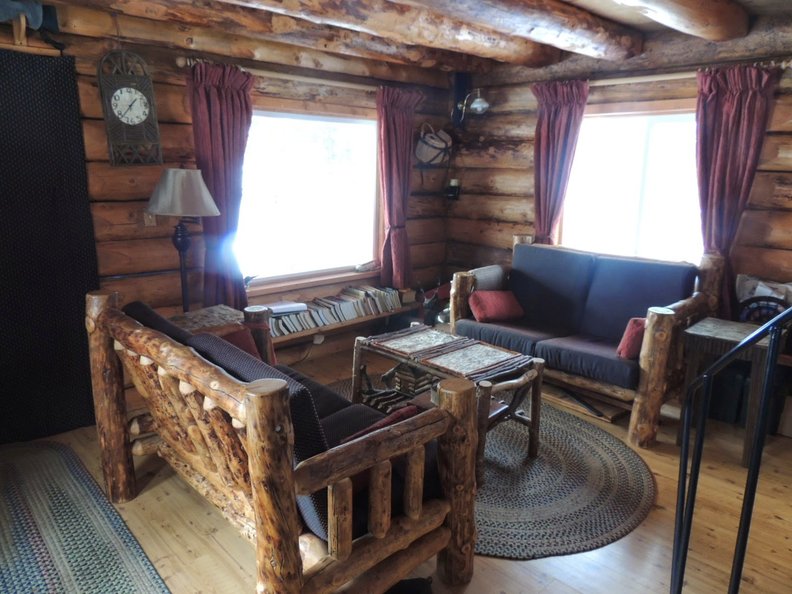 Alaska bush life off road off grid tiny house furnishings for Small cabin living