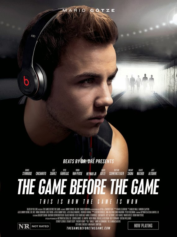 Beats by Dr. Dre, The Game before the Game, Mario Götze