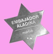 CARITA BONITA EMBAJADORA ALADINA