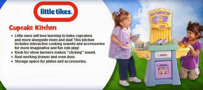 strawberry tags~: little tikes: cupcake kitchen (available in 2 color)