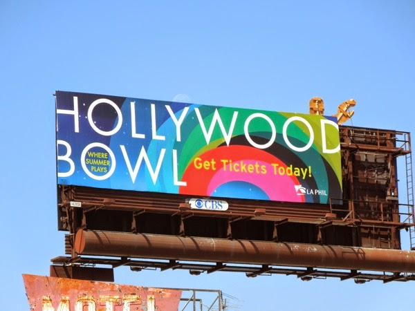 2014 Hollywood Bowl billboard