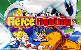 dragon ball z fierce