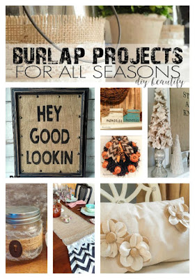 10 fabulous burlap projects to make | diy beautify