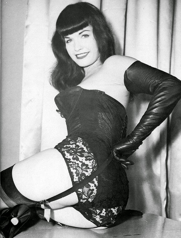 Bettie Page sado