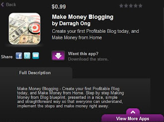 Make Money Blogging App