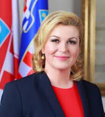 Presidenta de Croacia Kolinda Grabar-Kitarovic
