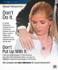a case study on sexual harassment These case studies, while additional to the information provided in a bad business: review of sexual harassment in employment complaints 2002, are summaries of actual allegations made by complainants in nine of the complaint files reviewed.