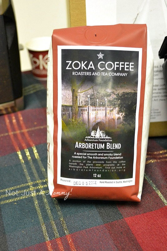 Arboretum Foundation Gifts And Green Galore sneak peek Zoka Coffee
