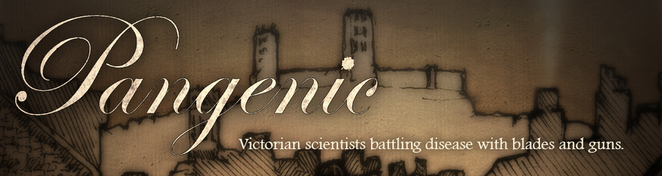 Pangenic — Turn based tactics in Victorian England.
