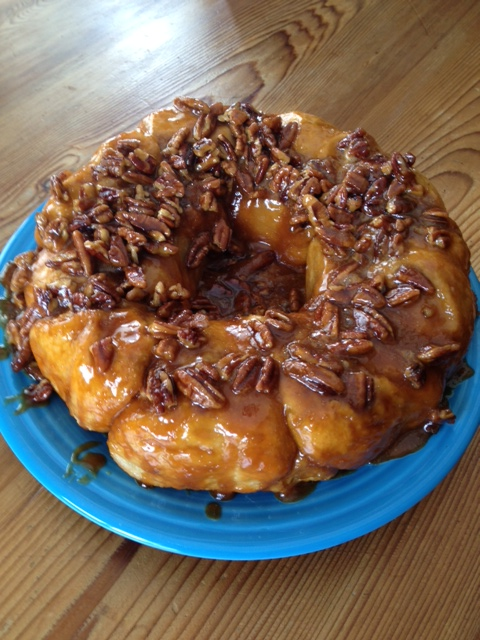 You Go Girl!: Easy Overnight Caramel Pecan Rolls