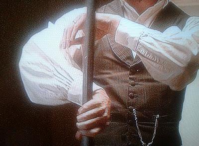 Abraham Lincoln Caçador de Vampiros usar machado