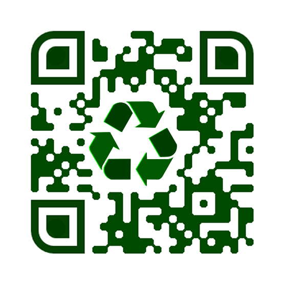 Recycled QR Code
